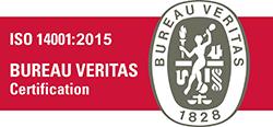 Certification Bureau Veritas ISO 14001 2015