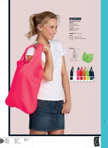 Sacs shopping pliable